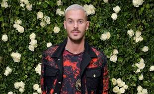 Matt Pokora le 28 septembre 2017, de retour à Paris pour la Fashion Week