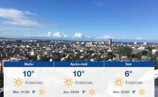 Météo Le Havre: Prévisions du mardi 20 avril 2021