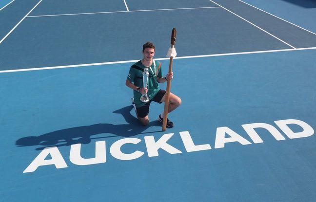 Auckland: Ugo Humbert remporte le tournoi en battant Benoît Paire
