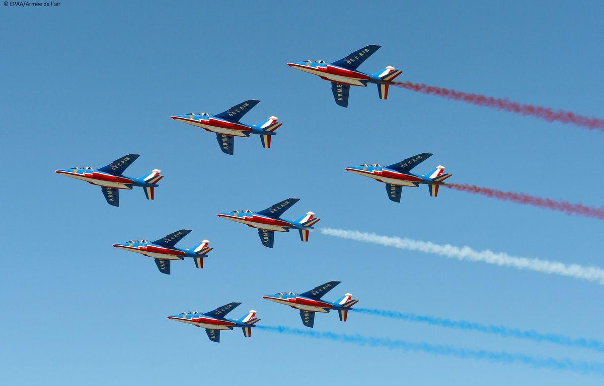 Illustration de la patrouille de France.  – EPAA/Armée de l'air