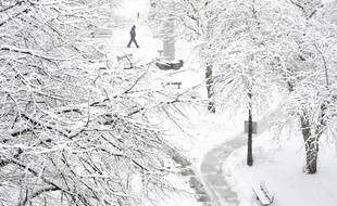 New York face au blizzard
