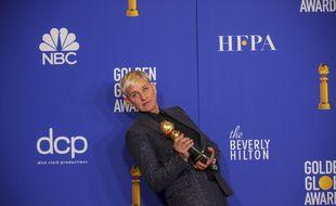 L'animatrice télé Ellen DeGeneres