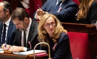 La ministre de la Justice Nicole Belloubet, le 3 octobre 2018.