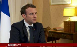 Emmanuel Macron sur la BBC.