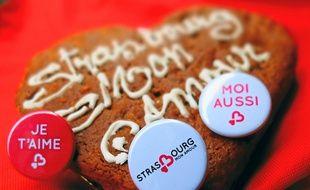 A Strasbourg, la Saint-Valentin dure dix jours en 2014.