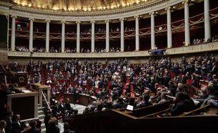 L'Assemblée nationale le 3 octobre 2018.