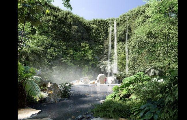 Une cascade de 25 m de haut sera aménagée dans la carrière Miséry à Nantes.