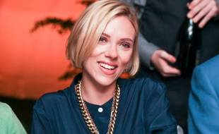 Scarlett Johansson, le 19 juillet 2014, à New York.
