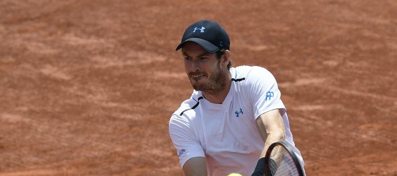Andy Murray face à Stan Wawrinka, en demi-finale de Roland-Garros, vendredi 9 juin 2017.