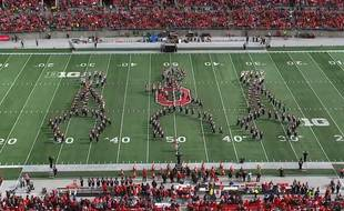 Ohio State University's marching band