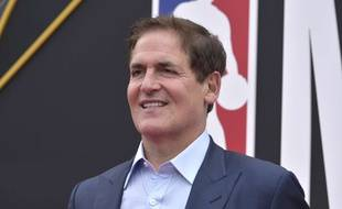 Le propriétaire des Dallas Mavericks Mark Cuban, le 25 juin 2019 à Santa Monica, en Californie.
