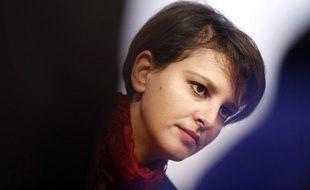 La ministre de l'Education Najat Vallaud-Belkacem à Paris le 28 novembre 2014