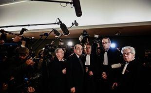 Le cardinal Barbarin sera jugé jusqu'au 10 janvier pour non-dénonciation d'agressions sexuelles sur mineurs. JEFF PACHOUD / AFP
