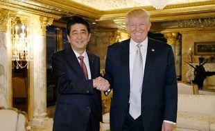 Shinzo Abe est le premier dirigeant étranger à rencontrer le président américain élu Donald Trump