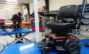 A Nantes, l'entreprise d'insertion Envie autonomie reconditionne du matériel médical.