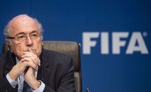 Sepp Blatter le 30 mai 2015.