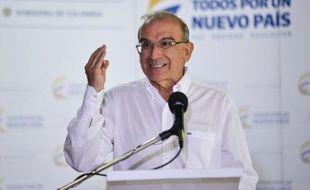 Humberto de la Calle, négociateur en chef du gouvernement colombien, à La Havane le 26 juin 2015