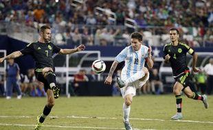 Lionel Messi lors de Mexique-Argentine le 8 septembre 2015.