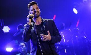 Le chanteur Ricky Martin.