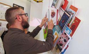 Exposition Le Grand Bécédaire à la Maison Fumetti de Nantes.