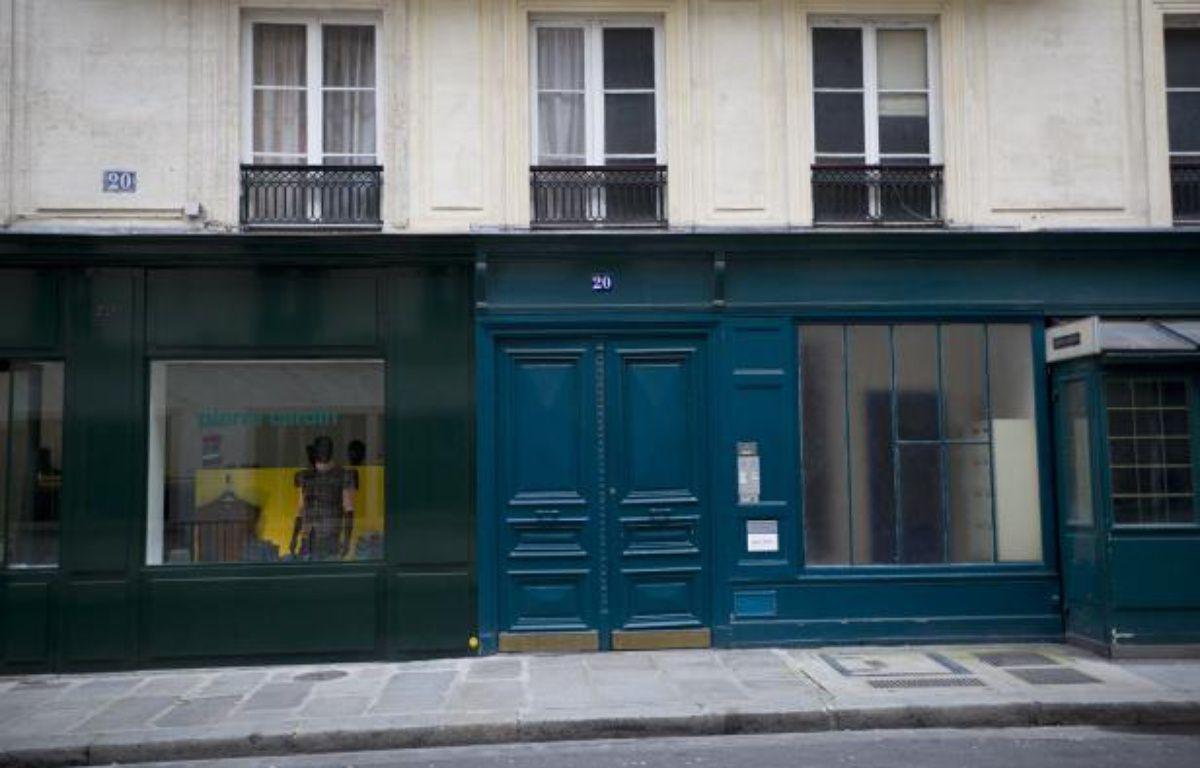 Le 20, rue du cirque à Paris (8e), le 12 janvier 2014. – Vincent Wartner / 20 MINUTES