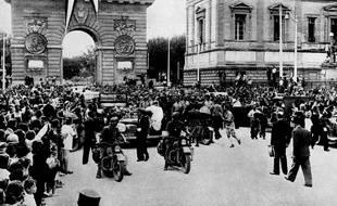 La Libération de Montpellier (Archives).