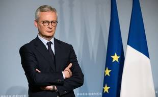 Bruno Le Maire, le 8 avril 2020 à Paris.