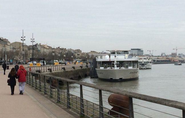 Cinq compagnies comptant au total six paquebots sont installés sur le bassin de navigation Bordelais.