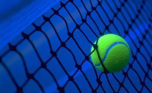 Illustration d'une balle de tennis.
