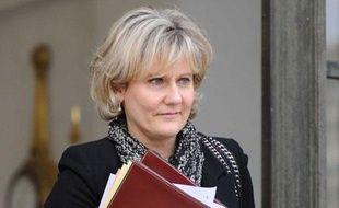 Nadine Morano au palais de l'Elysée, à Paris, le 11 janvier 2012.