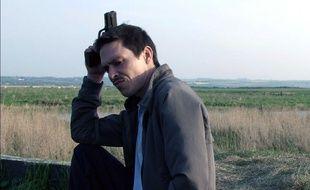Gérald Thomassin dans une scène du film Le premier venu, en 2007
