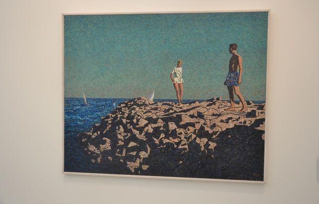 L'exposition de Vincent Bioulès au musée Fabre rassemble quelque 220 oeuvres.