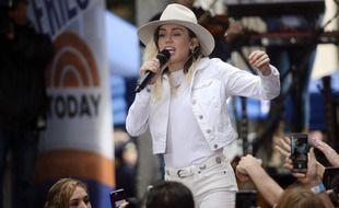 La chanteuse Miley Cyrus