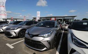 Un concessionnaire de la marque Toyota (image d'illustration).