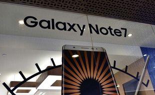 Samsung a arrêté la vente et la production de son Galaxy Note 7.