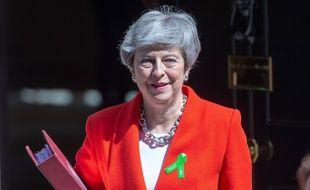 La première ministre britannique Theresa May a officiellement démissionné de la tête du Parti conservateur, le 7 juin 2019 à Londres.