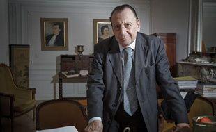 Paris le 27 aout 2013. Portrait de Pierre GONZALEZ de GASPARD avocat pénaliste au barreau de Paris, avocat de Francis Heaulme au futur procès du presumé auteur du double meurtre de Montigny-les-Metz.