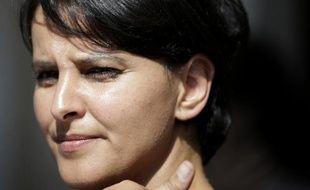La ministre de l'Education nationale Najat-Vallaud Belkacem le 17 juin 2015 à Paris