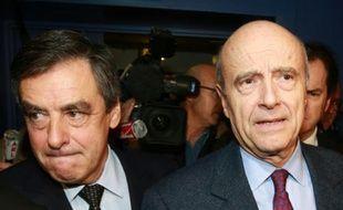 François Fillon et Alain Juppé le 23 mars 2015 à Pessac