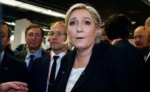 Marine Le Pen, ici à Paris le 1er février 2017.