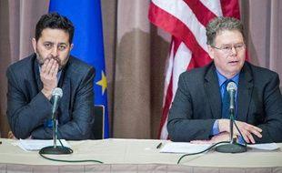 """Européens et Américains ont conclu vendredi à Washington le 3e round de leurs négociations commerciales en assurant qu'un accord de libre-échange ne serait pas synonyme d'une """"dérégulation"""" généralisée de part et d'autre de l'Atlantique."""