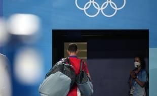 Pas de golden slam pour Novak Djokovic. (Xinhua/Li Ga) - Li Ga Credit:CHINE NOUVELLE