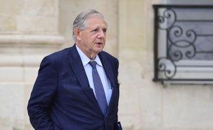 Le ministre de la Cohésion des territoires Jacques Mézard, le 19 juillet 2017.
