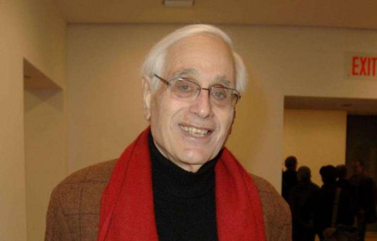 Le journaliste américain Edward Jay Epstein, auteur d'une contre-enquête sur l'affaire DSK, le 3 novembre 2011 à New York. – MCMULLAN CO/SIPA