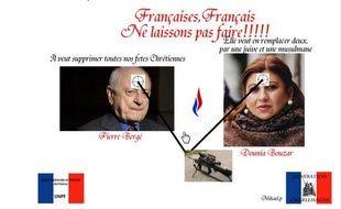 Le montage photo exhumé du compte Twitter de Mikaël Pinton par des internautes.