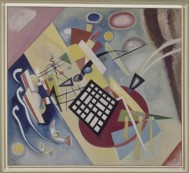 La Trame noire de Vassily Kandinsky