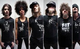 Le groupe de musique Shaka Ponk