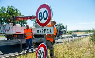 La nouvelle loi sur les mobilités prévoit un assouplissement de la limitation de vitesse 80 km/h