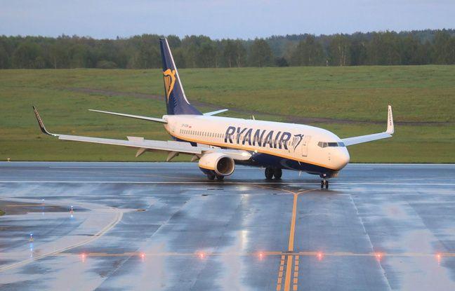 648x415 l avion ryanair en provenance d athenes a ete deroute vers minsk le 23 mai 2021