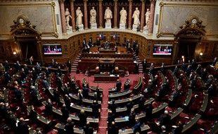 Le Sénat français, à Paris, le 13 octobre 2020.